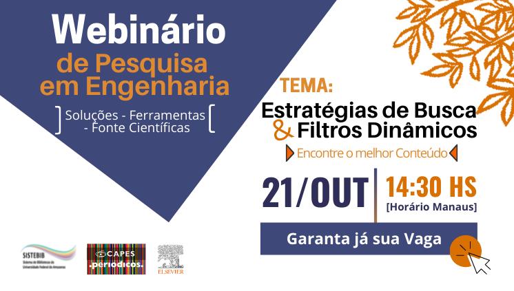 WEBINÁRIO DE PESQUISA EM ENGENHARIA 2021