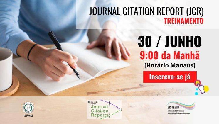 Treinamento: JOURNAL CITATION REPORT (JCR)