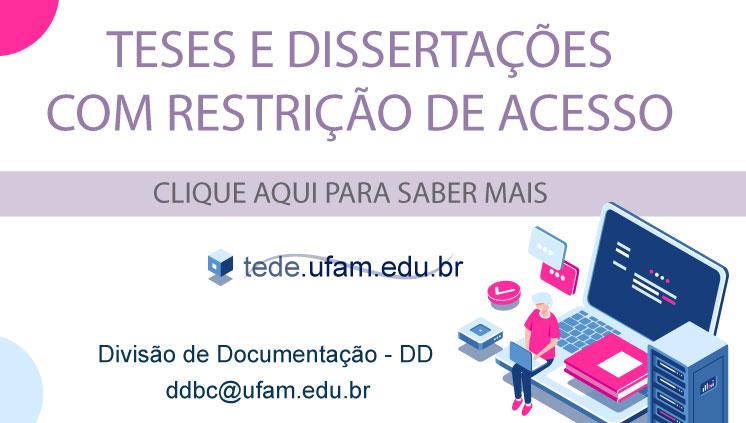 Depósito de teses e dissertações com restrição de acesso